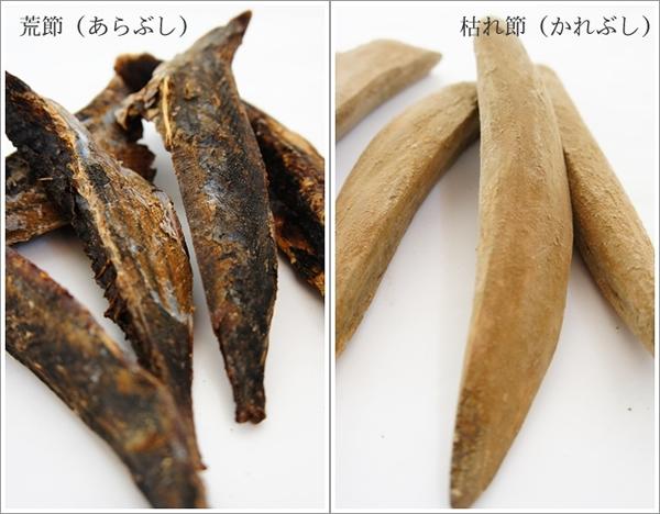 鰹節の種類と呼び方1荒節と枯れ節