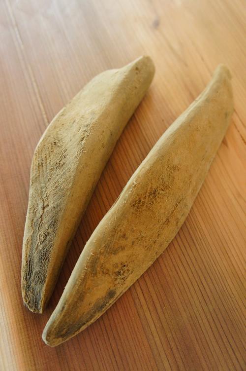 鰹節の種類と呼び方2亀節と本節